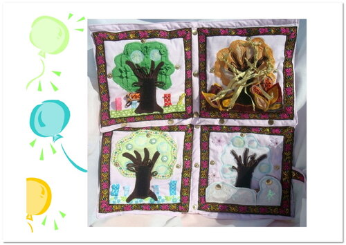 Детский календарь своими руками ~ Дерево Жизни