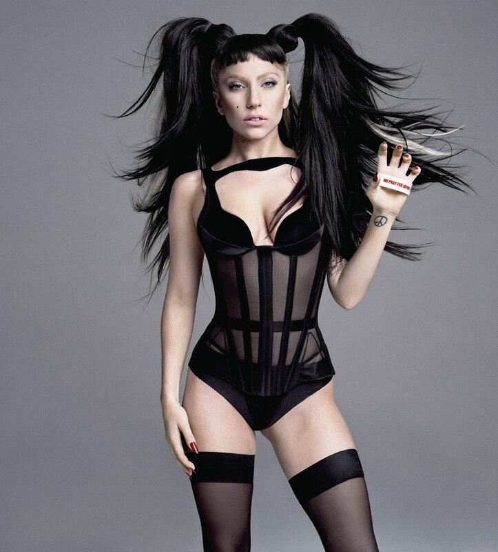 Леди Гага (Lady Gaga) лето 2011