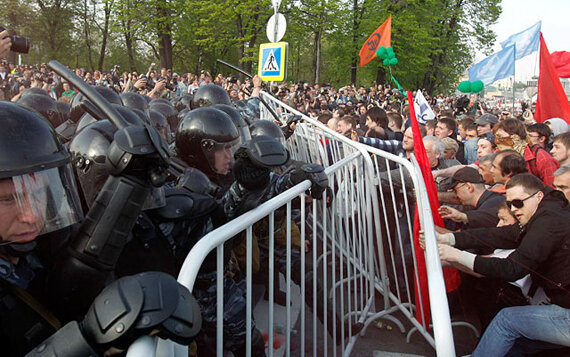 RUSSIA-PROTESTS/CLASHES