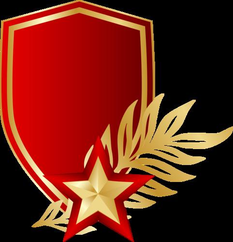 Звезда изготавливается из золота и