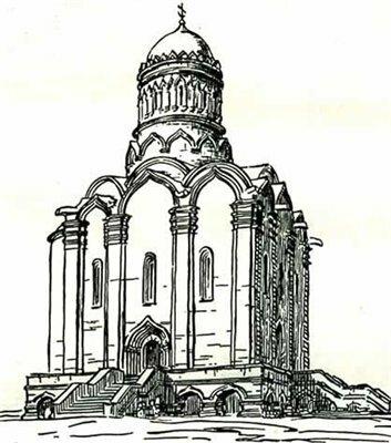Успенский собор Симонова монастыря 1379-1404 гг.