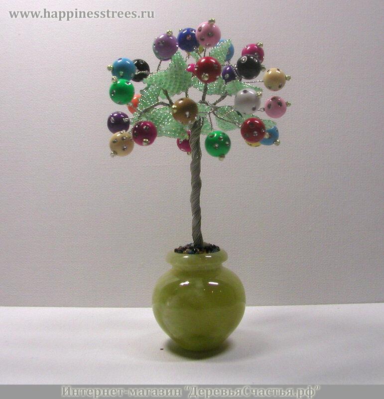 """Дарите дерево из бисера ручной работы из коллекции  """"Деревья из бисера и."""