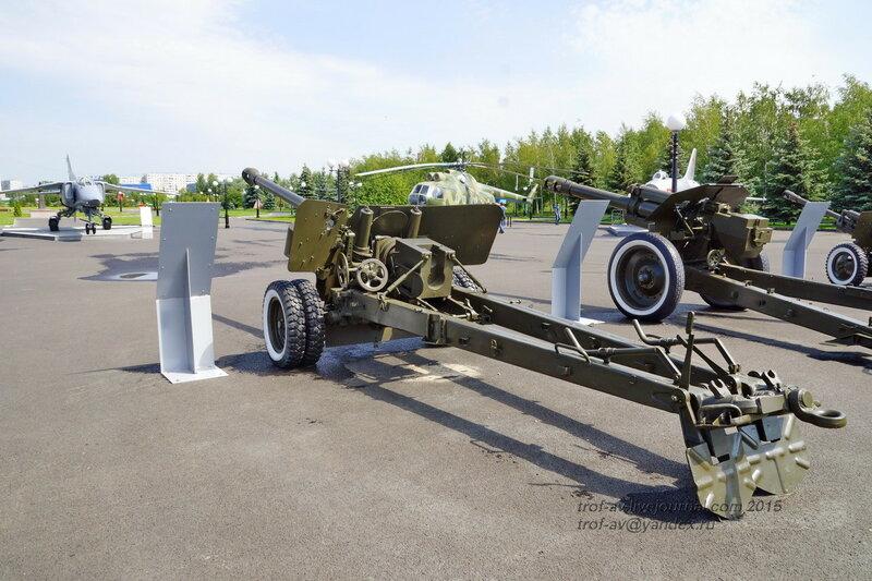 Полевая пушка БС-3, Парк Победы, Казань