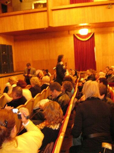 Презентация Фабриса Керерве в зале Тульской филармонии