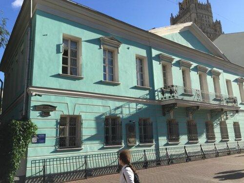 Дом, где семейно проживал Пушкин