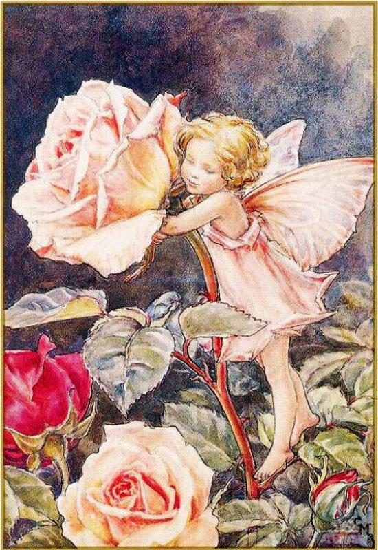 Сесиль Мери Баркер. Эльф и розы.