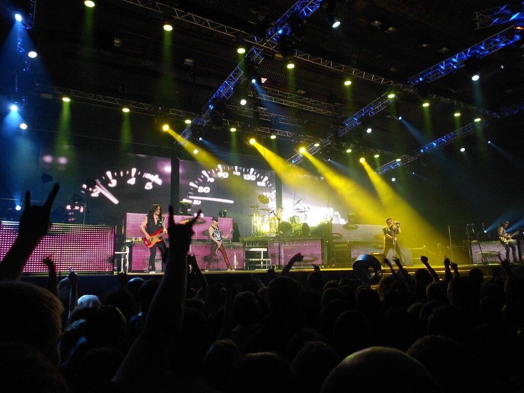 Последний концерт Scorpions в Челябинске