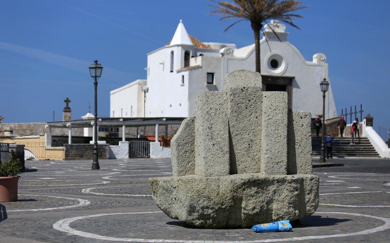 Ischia, Forio. The square of John Paul II (Piazzale Papa Giovanni Paolo II)