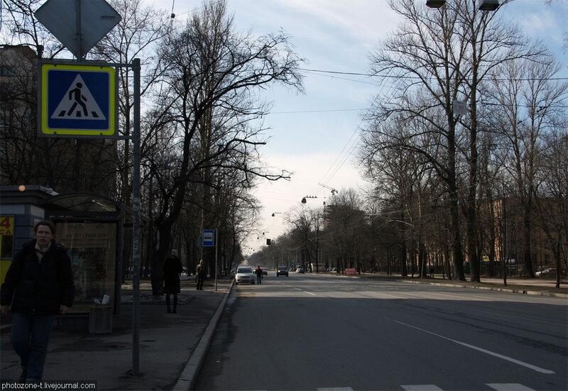 Петербург тогда и сейчас - 2-ой Муринский, Ланская