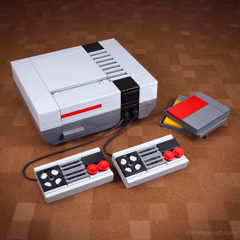 Ретро модели бытовой техники из Lego (8 фото)