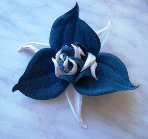 Цветы из джинсовой ткани 0_9af4b_526d300_M