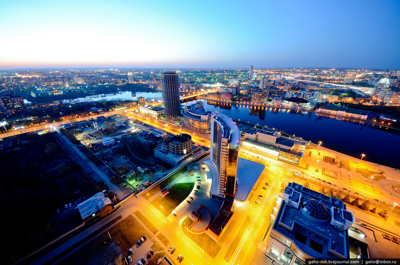 Екатеринбург с высоты (Весна 2012)