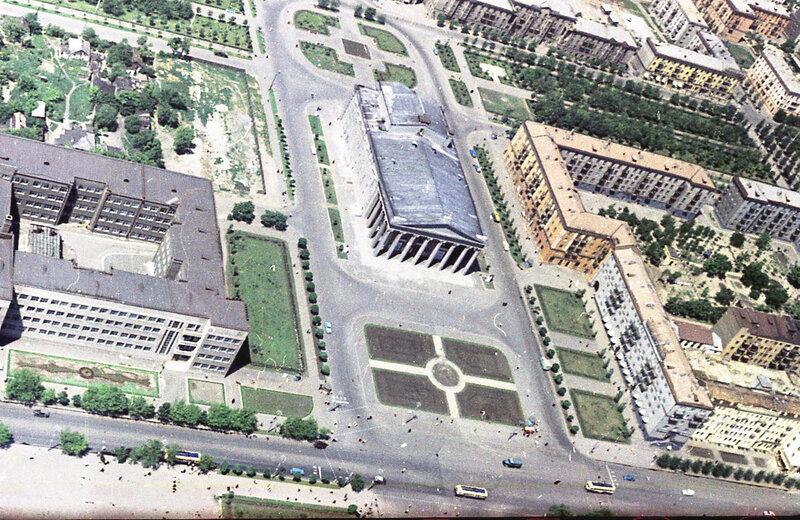 10. Донецк. Аэрофотосъемка начала 1960-х