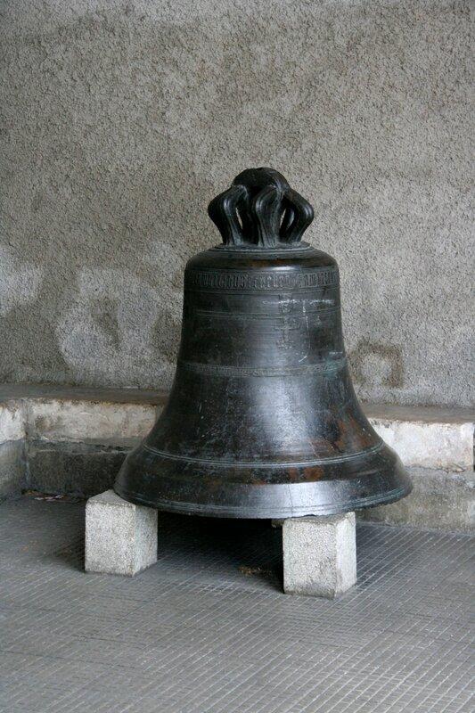 Колокол в церкви города Акс-ле-Терм