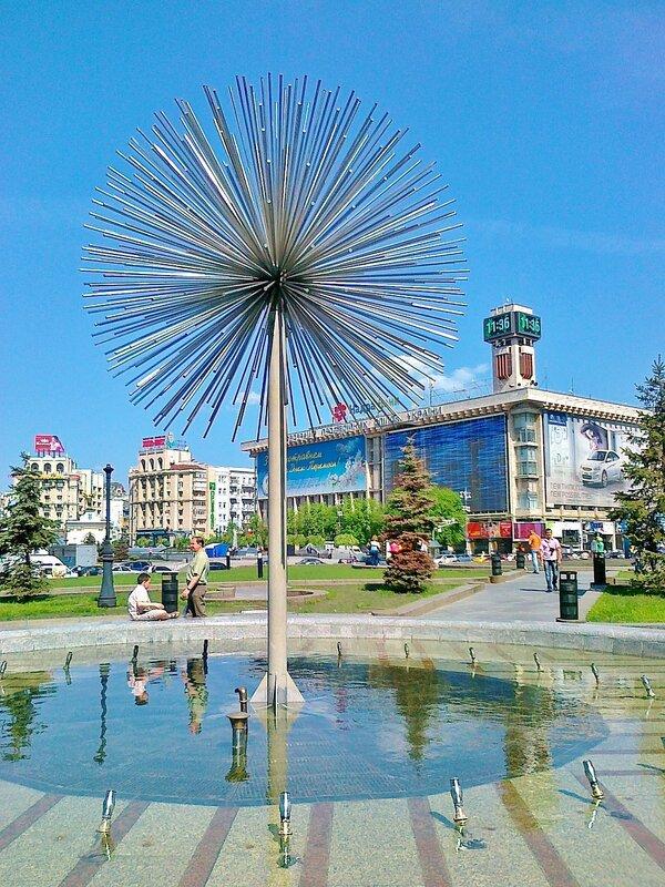 Конструкция фонтана Одуванчик
