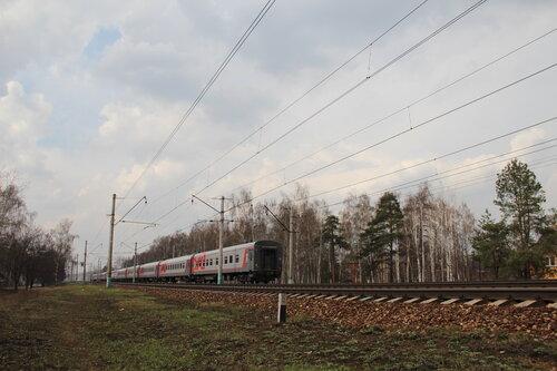 Схема состава поезда