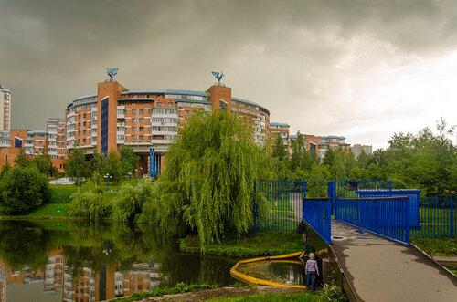 В Северном Бутово (Москва).