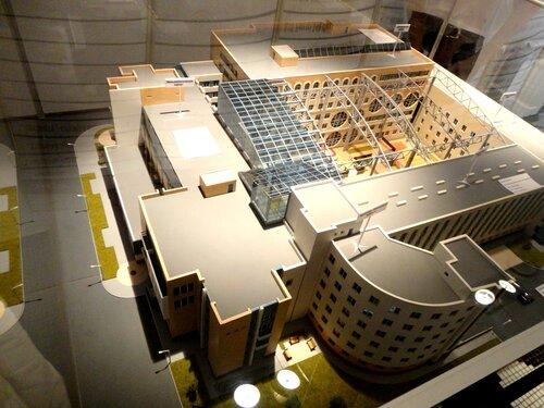 Макет всего комплекса Матрешка Плаза в Самаре
