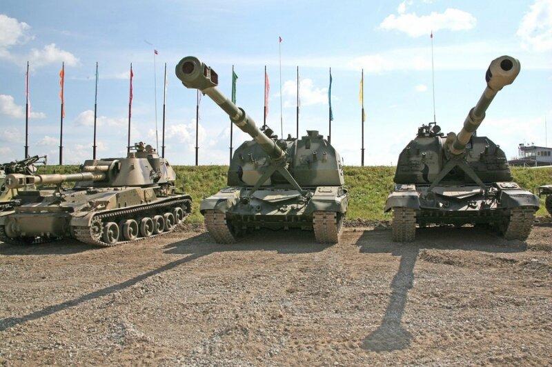 Модернизированная САУ «Мста-М»