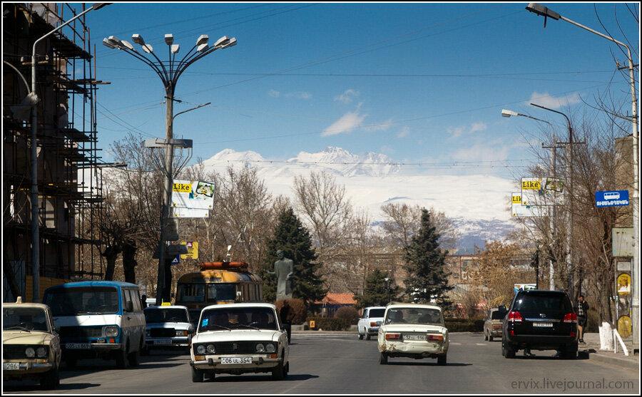 Армения. Город Вагаршапат