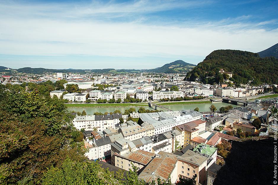 что посмотреть в Зальцбурге за один день Гора Капуцинерберг