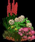 Цветочные клумбы