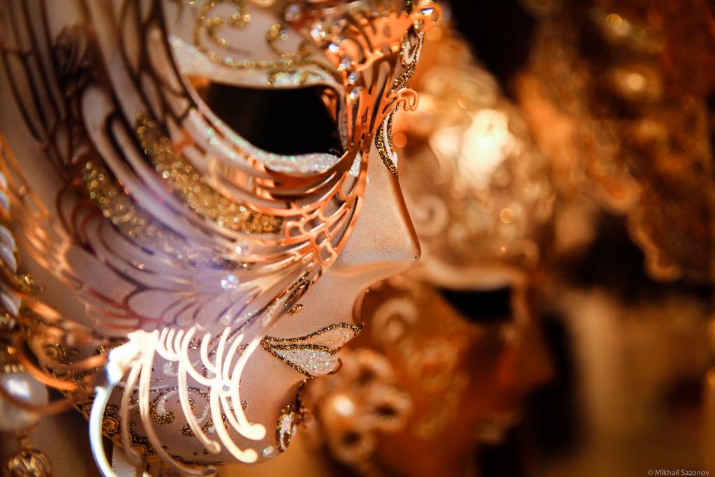 венецианские карнавальные маски