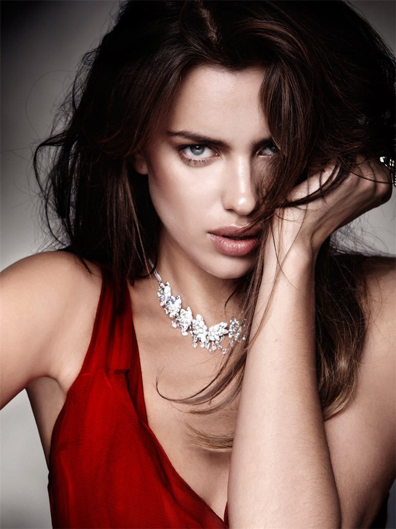 модель Ирина Шейк / Irina Shayk, фотограф Santiago Esteban