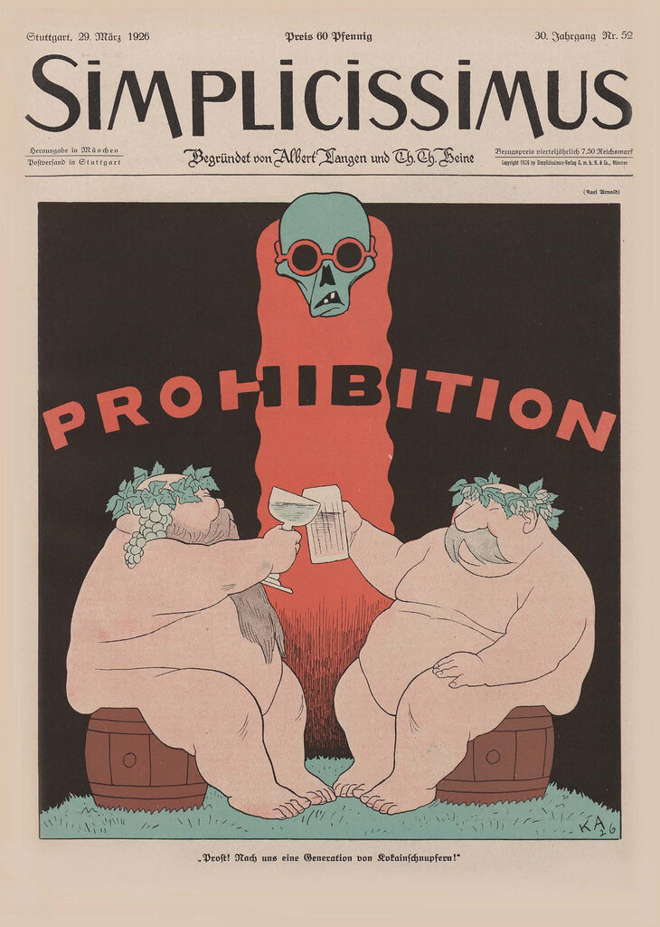 Simplicissmus Cover, 1926