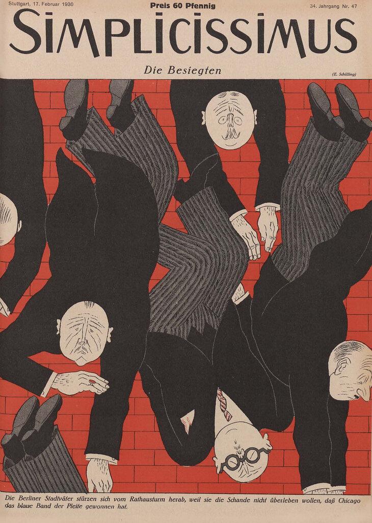 Simplicissmus Cover, 1930