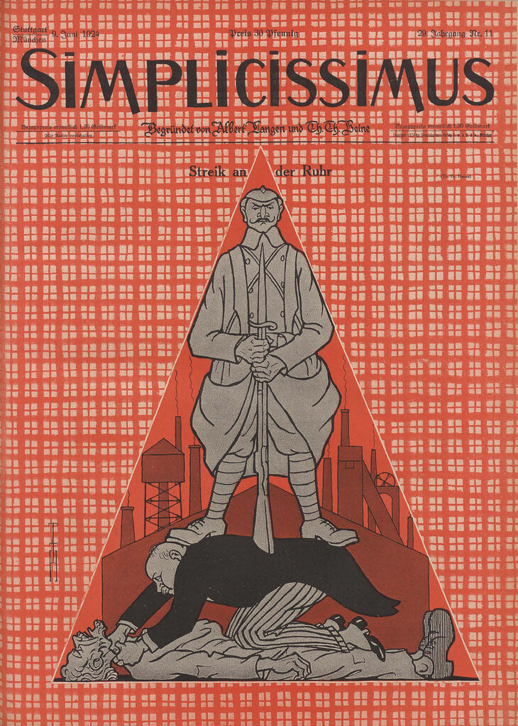 Simplicissmus Cover, 1924