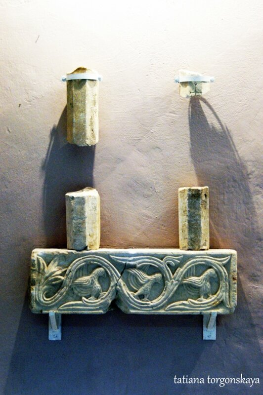 Экспонат археологической экспозиции