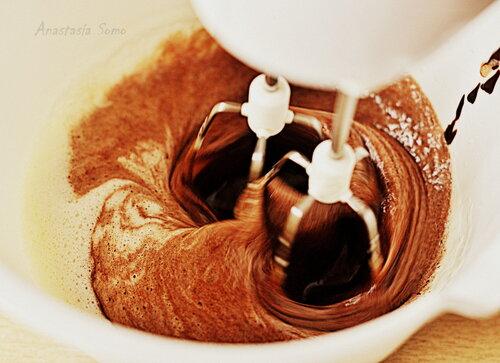 Шоколадное печенье с вареньем (тесто)