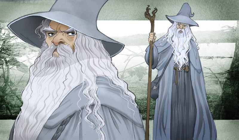 Gandalf LOTR - Sally Avernier
