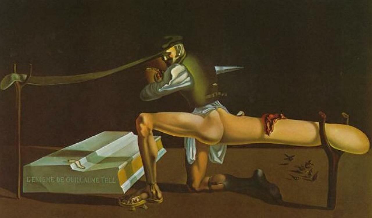The Enigma of William Tell.1934 - Dali Salvador