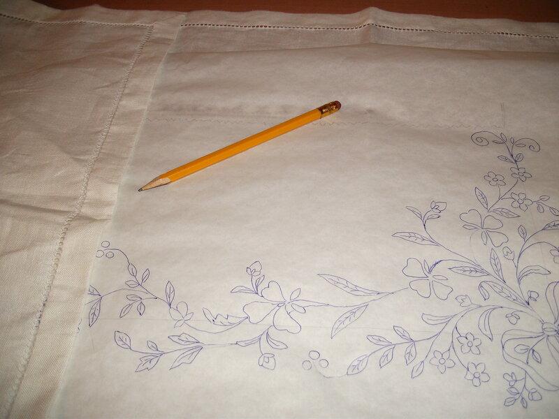 Как переводить рисунок для вышивки 478
