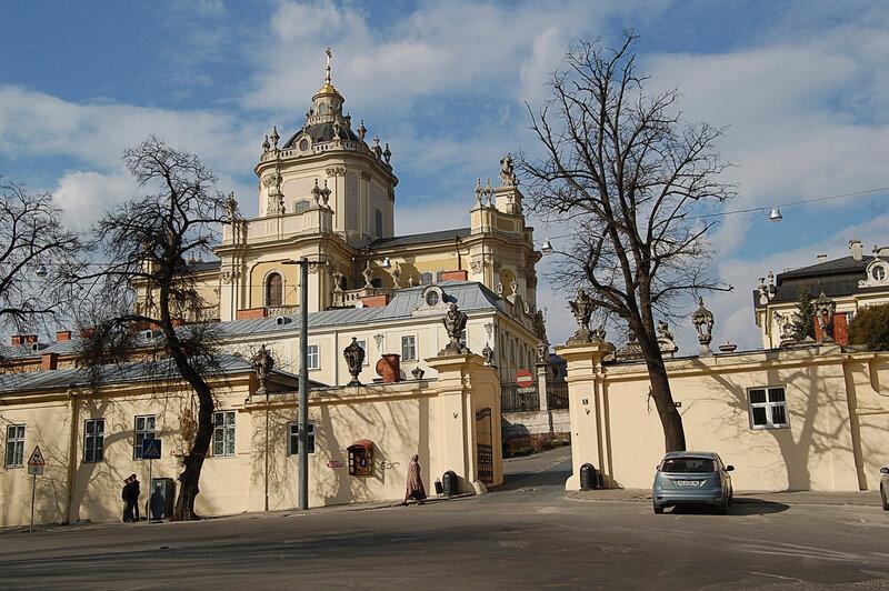 Собор св. Юра во Львове