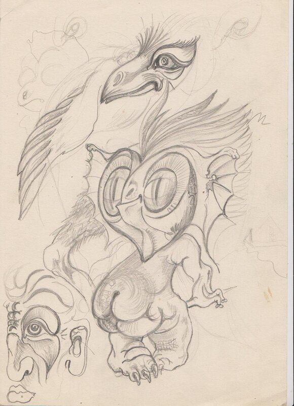 Зарисовки с эротических фантазий