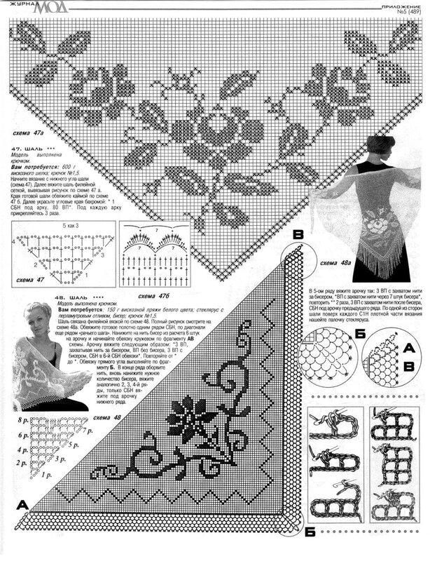 杂志:披肩 - 荷塘秀色 - 茶之韵
