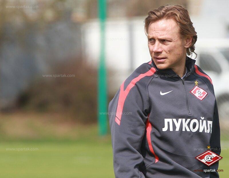 Тренировка «Спартака» перед матчем с ЦСКА (Фото)