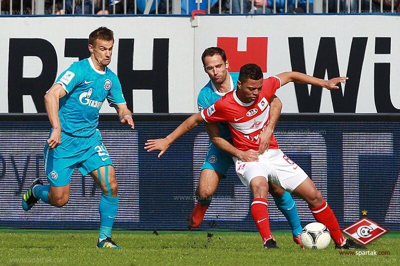 «Зенит» vs «Спартак» 2:3 Премьер-лига 2011-2012 (Фото)