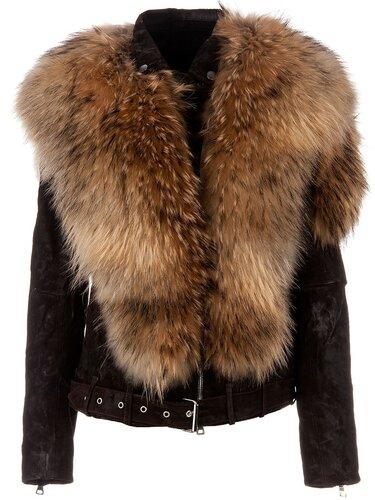Кожаные куртки с мехом чаще всего имеют сказочный перелив натурального...