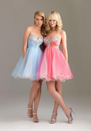 фасоны вечерних платьев для полных дам