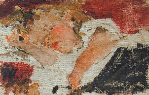 Николай Фешин. Спящая Ия.jpg