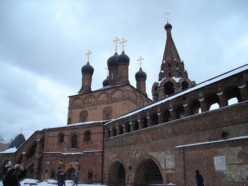 Успенский собор, колокольня, галерея