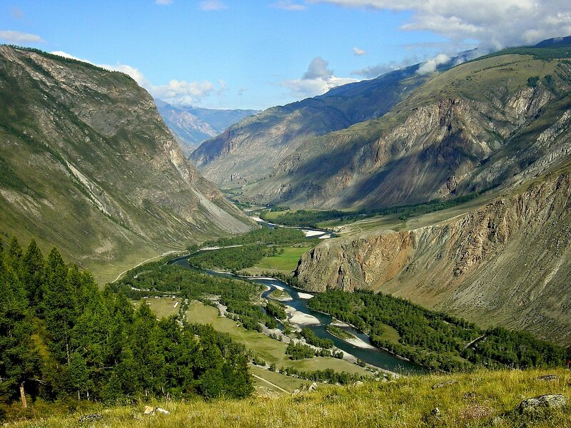 В горах Алтая - Чулышман