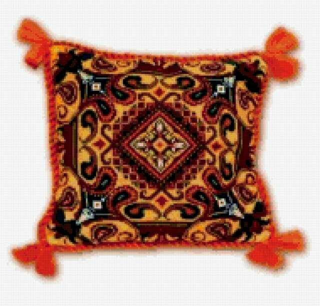b схемы для вышивки крестом подушки от фирмы РИОЛИС.