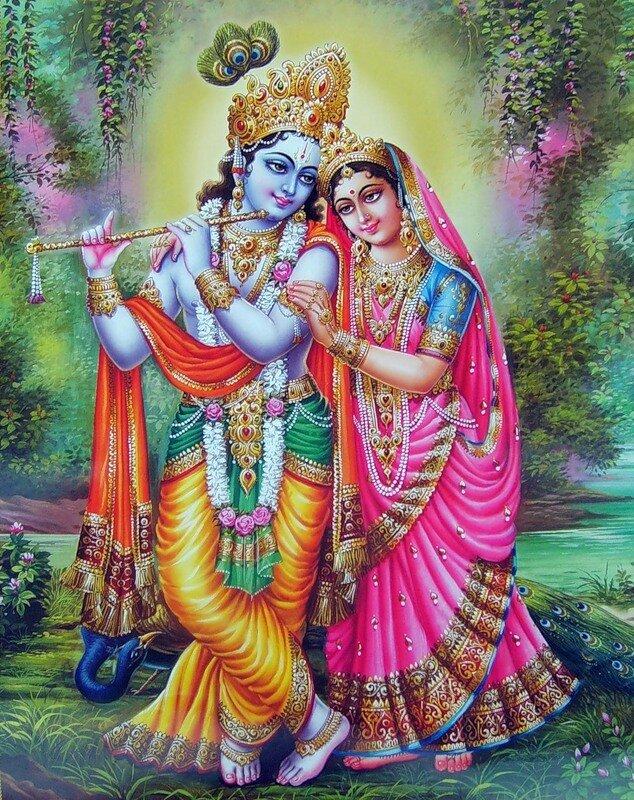 Искусство Индии - РАДХА-КРИШНА