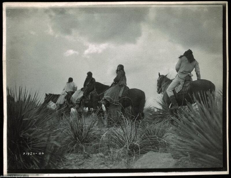 Североамериканские индейцы - Фотограф Эдвард Кертис