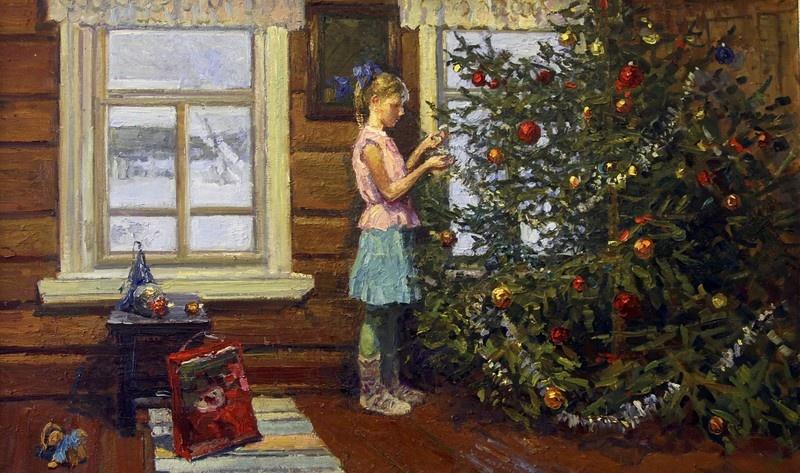 Ирина Рыбакова, «Рождественская елка», 2012
